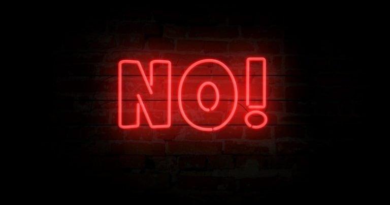 Rispetta te stesso: impara a dire NO!